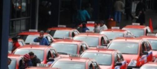 Táxis na Estação Rodoviária de Porto Alegre