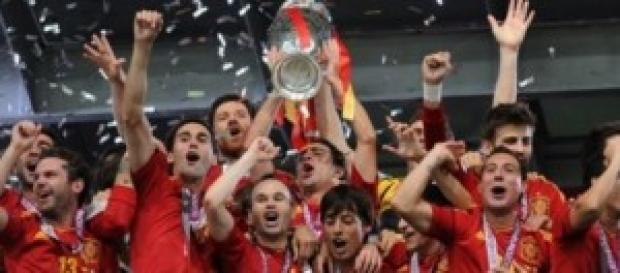 Selección Española en mejores tiempos.