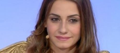 Anna Munafò in ospedale al suo rientro in Italia.