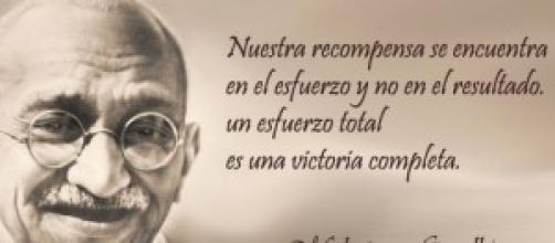 Gandhi ,siempre un ejemplo a seguir