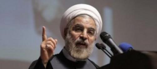 Il presidente iraniano Hassan Rouhani