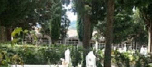 Un cementerio en el Pirineo aragonés