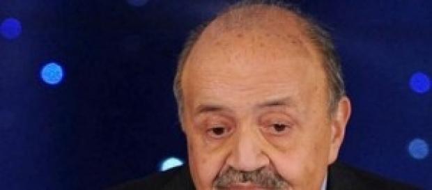 Maurizio Costanzo celebre giornalista e conduttore