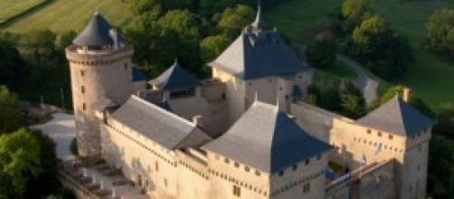 Le château de Malbrouck en Lorraine