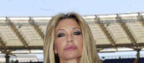 La conduttrice di Diario Mondiale Paola Ferrari