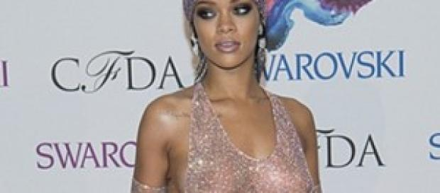 Rihanna al Council of Fashion Designers