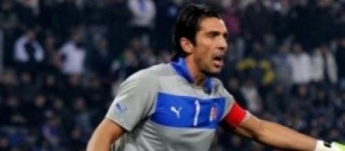 Gigi Buffon portiere della Nazionale italiana