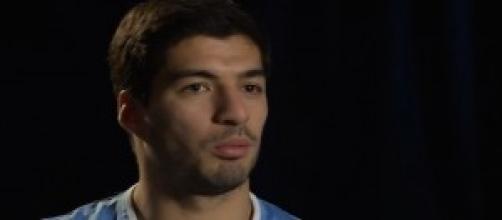 Luis Suarez, centravanti dell'Uruguay