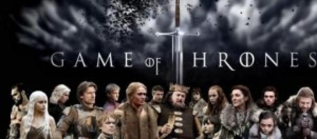 Il cast di Game of Thrones.