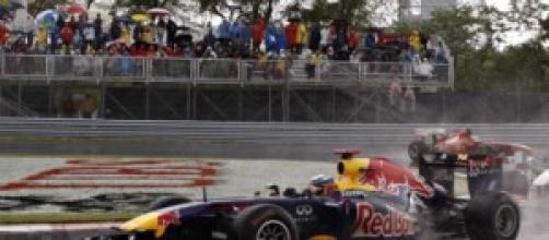 Il tornante del circuito Gilles Villeneuve