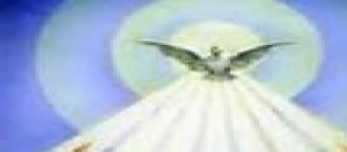 Immagine raffigurante lo Spirito Santo.