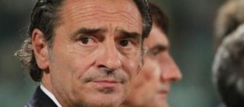Italia Prandelli, Di Biagio vs Lussemburgo
