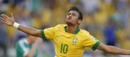 Neymar, stella del Barcellona e del Brasile