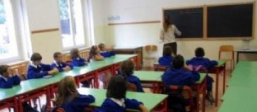 Classe di Scuola primaria destinata a svuotarsi