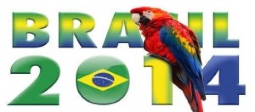 Il team azzurro ai mondiali di calcio Brasile 2014