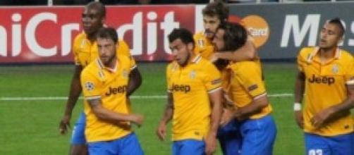 La Juventus ultima vincitrice del campionato.