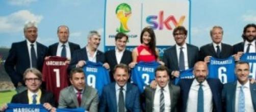 La squadra di Sky per il Mondiale in Brasile