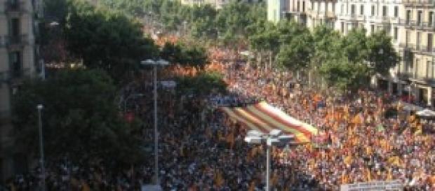 Manifestacion por la independencia