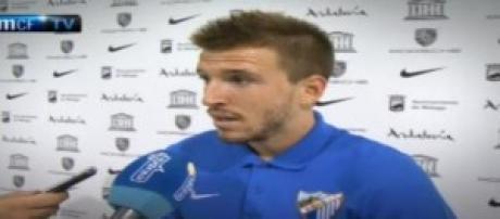 Ignacio Camacho, 24 anni, mediano del Malaga