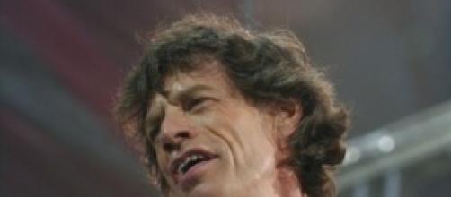 Mick Jagger nel tour in Italia nel 2003