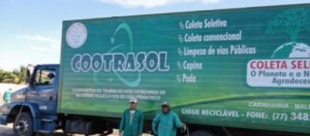 Caminhão de adquirido com recursos próprios
