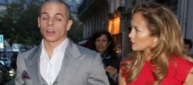 J-Lo e il suo (ex?) giovane fidanzato Casper Smart