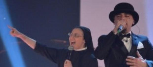 Suor Cristina e J-Ax a The Voice