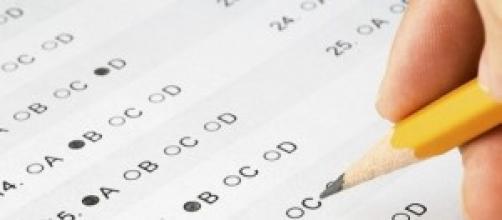 Examen tipo test de respuestas A-B-C-D