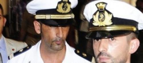 Massimiliano Latorre e Salvatore Girone.
