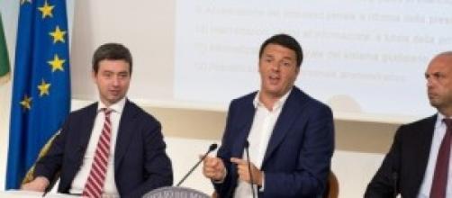 Riforma della giustizia: Renzi, Orlando e Alfano