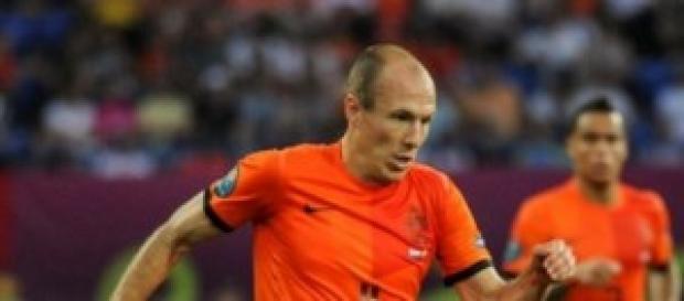 Arjen Robben, estrella de holanda.