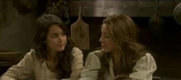 Emilia e Pepa si confidano.