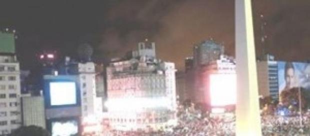 Los Argentinos festejan en Buenos Aires