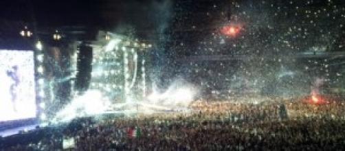 Il gran finale del concerto del 10 luglio