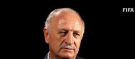 Felipe Scolari allenatore del Brasile
