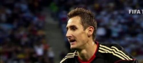 Miroslav Klose, attaccante della Germania