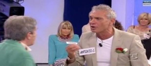 Antonio Jorio durante Uomini e Donne