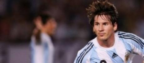 Leo Messi, campione dell'Argentina