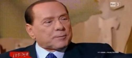 Nella foto Silvio Berlusconi