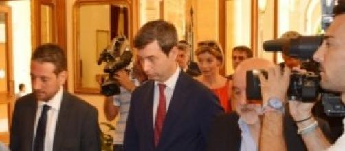 Ministro della Giustizia Andrea Orlando in Sicilia