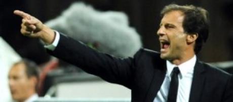 La presentazione di Allegri alla Juventus.