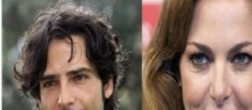 Claudia Gerini e Marco Bocci recitano insieme