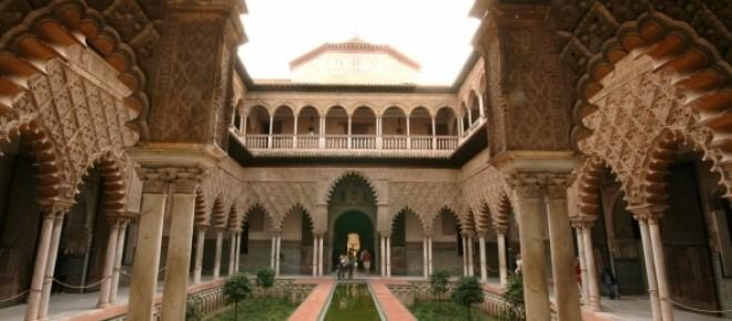 Real Alcázar de Sevilla en el que se efectuará el rodaje de Juego de Tronos.