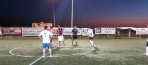 Una immagine di campo durante il torneo