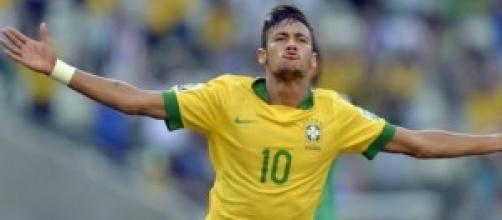Neymar del Brasile Paese ospitante.