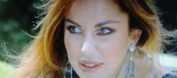 Alba Parietti festeggia compleanno a Ibiza