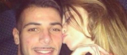 Aldo e Alessia al cinema insieme.