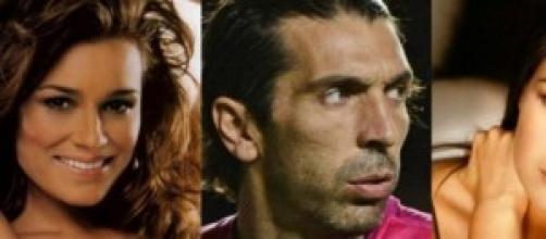 Buffon e D'Amico in vacanza, Alena single.