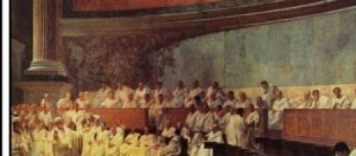 Senato raffigurazione di Cesare Maccari