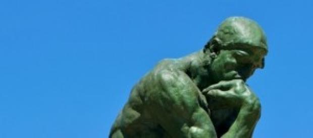 Il pensatore di Auguste Rodin (1840-1917)